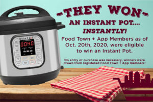 Instant Pot winners